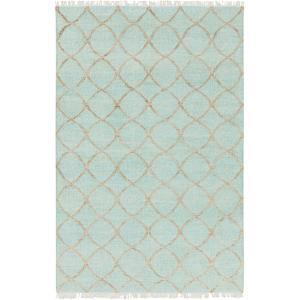 """Laural Area Rug - Mint/Tan 5' x 7'6"""""""