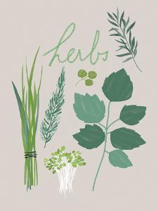 Collection of Herbs by Laure Girardin Vissian