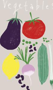 Collection of Vegetables by Laure Girardin Vissian
