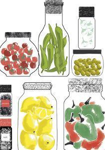 Conservateurs de Cuisine II by Laure Girardin-Vissian