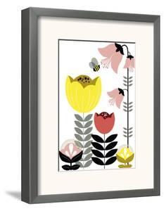 Nordic Flowers II by Laure Girardin Vissian