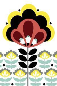 Nordic Flowers V by Laure Girardin Vissian