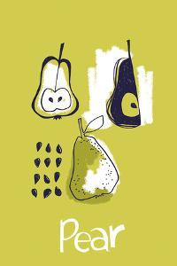 Pear Study by Laure Girardin Vissian