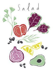 Salad by Laure Girardin Vissian