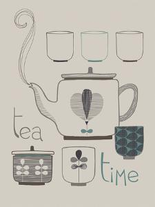 Tea and Coffee II by Laure Girardin Vissian