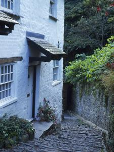 Clovelly Neighborhood, North Devon, England by Lauree Feldman