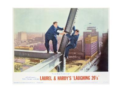 Laurel and Hardy's Laughing 20's - Lobby Card Reproduction--Art Print