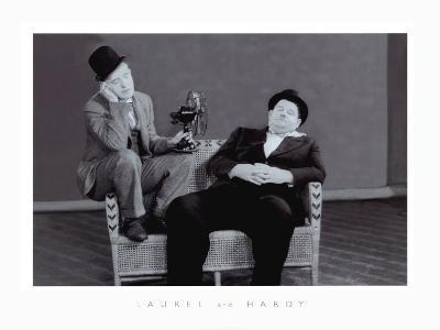 Laurel and Hardy-The Chelsea Collection-Art Print