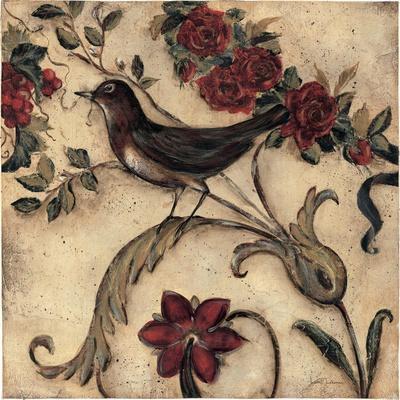 Crimson Song Bird No.2