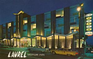 Laurel Motor Inn at Night