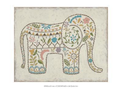 Laurel's Elephant I-Chariklia Zarris-Art Print