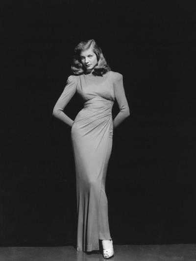 Lauren Bacall, 1944--Photographic Print