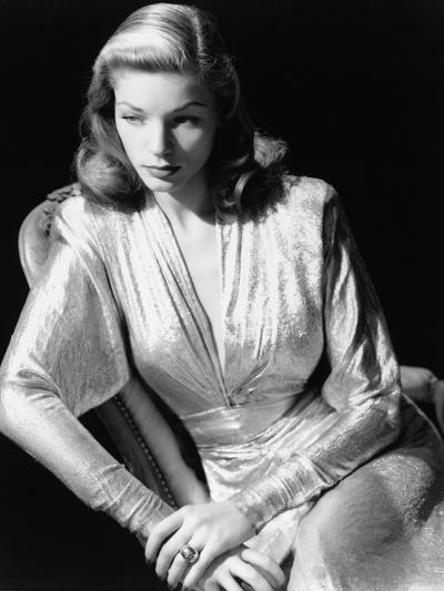 Lauren Bacall, 1945. 1945--Photographic Print