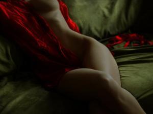 Crimson Olive Ivory by Lauren Bentley