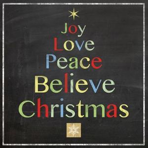 Christmas Tree Board by Lauren Gibbons