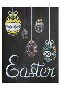 Easter Chalk Eggs by Lauren Gibbons