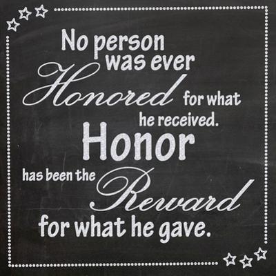 Honor by Lauren Gibbons