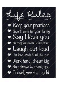 Life Rules by Lauren Gibbons
