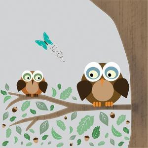 Owls by Lauren Gibbons
