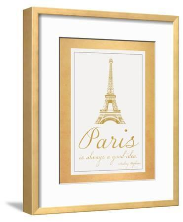 Paris Quote 2 Gold