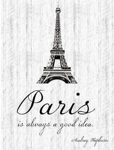 Paris Quote 2 by Lauren Gibbons
