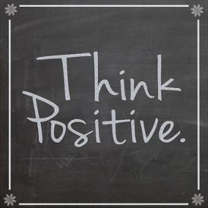 Think Positive by Lauren Gibbons
