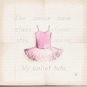 Ballet Tutu by Lauren Hamilton