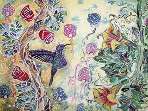 Hummingbird Delight by Lauren Moss