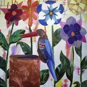 Kingfisher of Flowers by Lauren Moss