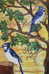 Monica's Jays by Lauren Moss