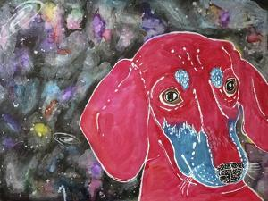 Sasha the Dachshund by Lauren Moss