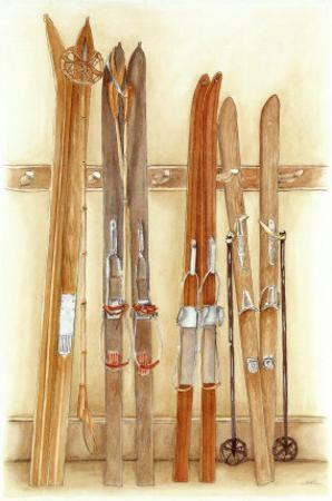 Old Skis II