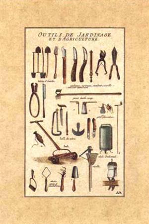 Outils de Jardinage, la Tondeuse