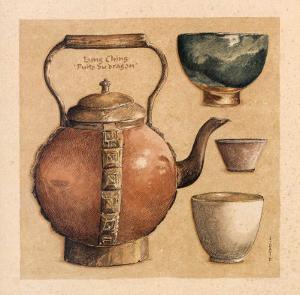 Tea Pot I by Laurence David