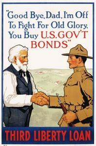 Third Liberty Loan Poster by Laurence Harris