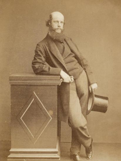 Laurence Oliphant English Writer- Watkins-Photographic Print
