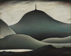 A Landmark, 1936 by Laurence Stephen Lowry