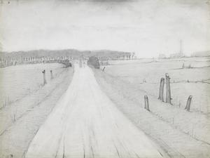 Country Road, 1925 by Laurence Stephen Lowry