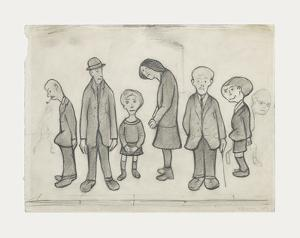 Family Group, 1956 by Laurence Stephen Lowry