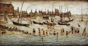 The Beach by Laurence Stephen Lowry
