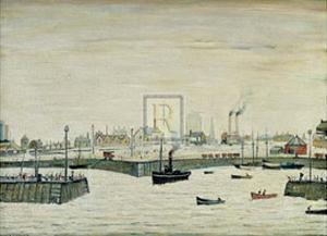 The Harbour by Laurence Stephen Lowry