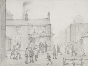 The Post Office, 1926 by Laurence Stephen Lowry
