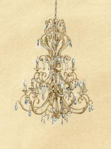 Elegant Chandelier I by Laurencon