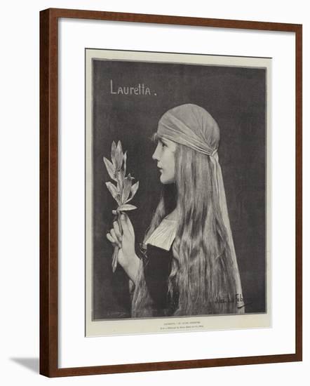 Lauretta-Jules Joseph Lefebvre-Framed Giclee Print