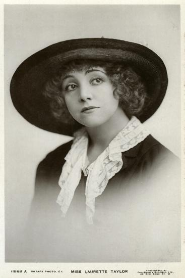 Laurette Taylor, American Actress, C1905-C1919-Foulsham and Banfield-Giclee Print