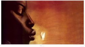 Whisper-Laurie Cooper-Art Print