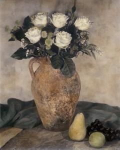 Rose Still Life by Laurie Eastwood