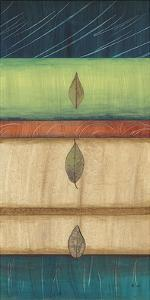 Springing Leaves I by Laurie Fields