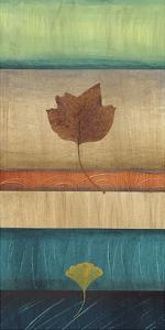 Springing Leaves II by Laurie Fields