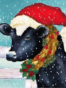 A Christmas Cow by Laurie Korsgaden
